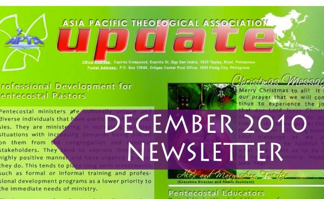 2010 December Update