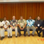 Representatives from Pacific Oceania Region (All Pacific Islanders)